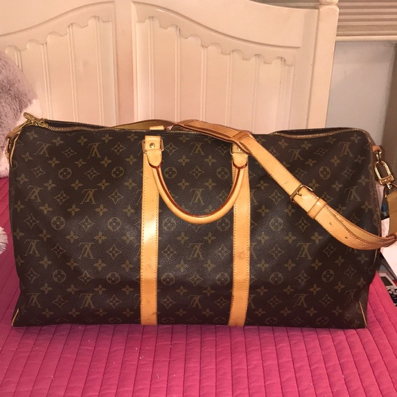 d42d38a85de Louis Vuitton Bags   Authentic Lv Duffle Bag Keepall 55   Poshmark